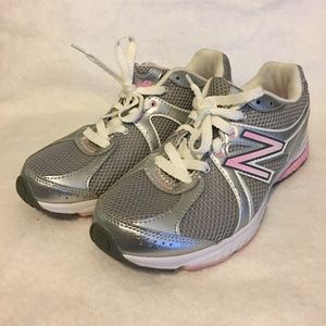New Balance Pink/Silver Athletic  Size 6.5